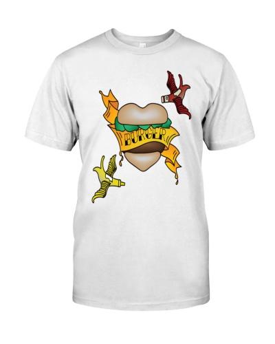 Burger Tattoo T-Shirts