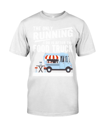It Is After The Food Truck T Shirt -  Premium T-Sh
