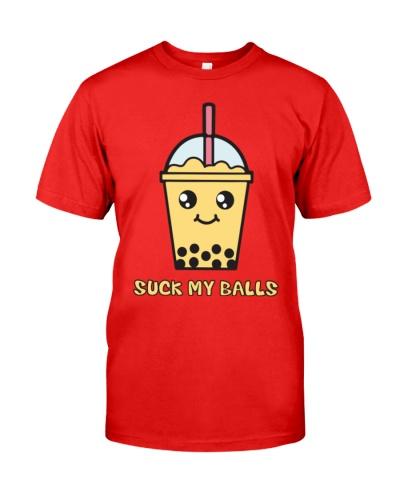 Suck My Balls  Bubble Tea  T-Shirts