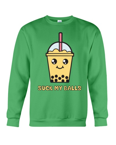 Suck My Balls  Bubble Tea  T-Shirts