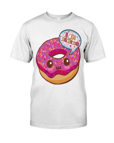 Donut Kawaii -  Premium T-Shirt