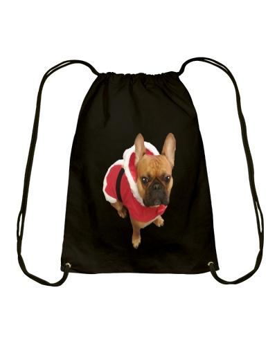 Santa Bulldog T Shirt