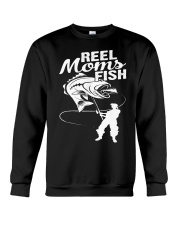 reel moms fish Crewneck Sweatshirt tile