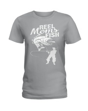 reel moms fish Ladies T-Shirt thumbnail