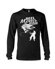 reel moms fish Long Sleeve Tee tile