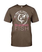 then a few learn how to fish Classic T-Shirt thumbnail