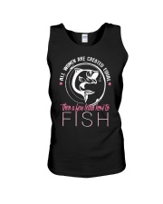 then a few learn how to fish Unisex Tank thumbnail