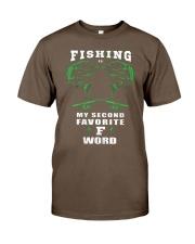 fishing word Classic T-Shirt thumbnail