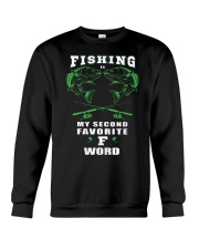 fishing word Crewneck Sweatshirt thumbnail