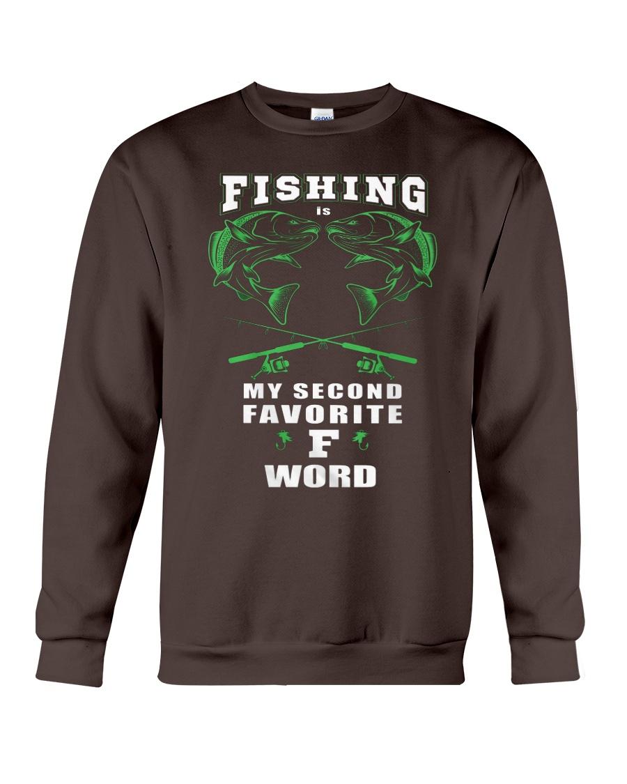fishing word Crewneck Sweatshirt
