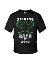 fishing word Youth T-Shirt thumbnail
