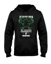fishing word Hooded Sweatshirt thumbnail
