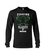 fishing word Long Sleeve Tee thumbnail