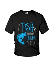 i fish so don't choke people Youth T-Shirt tile