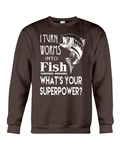 i turn worms into fish what's your superpower