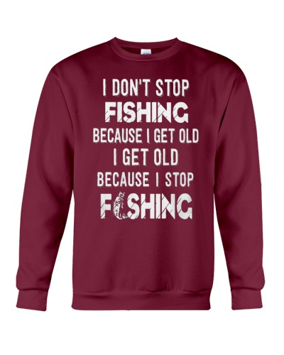 i don't stop fishing