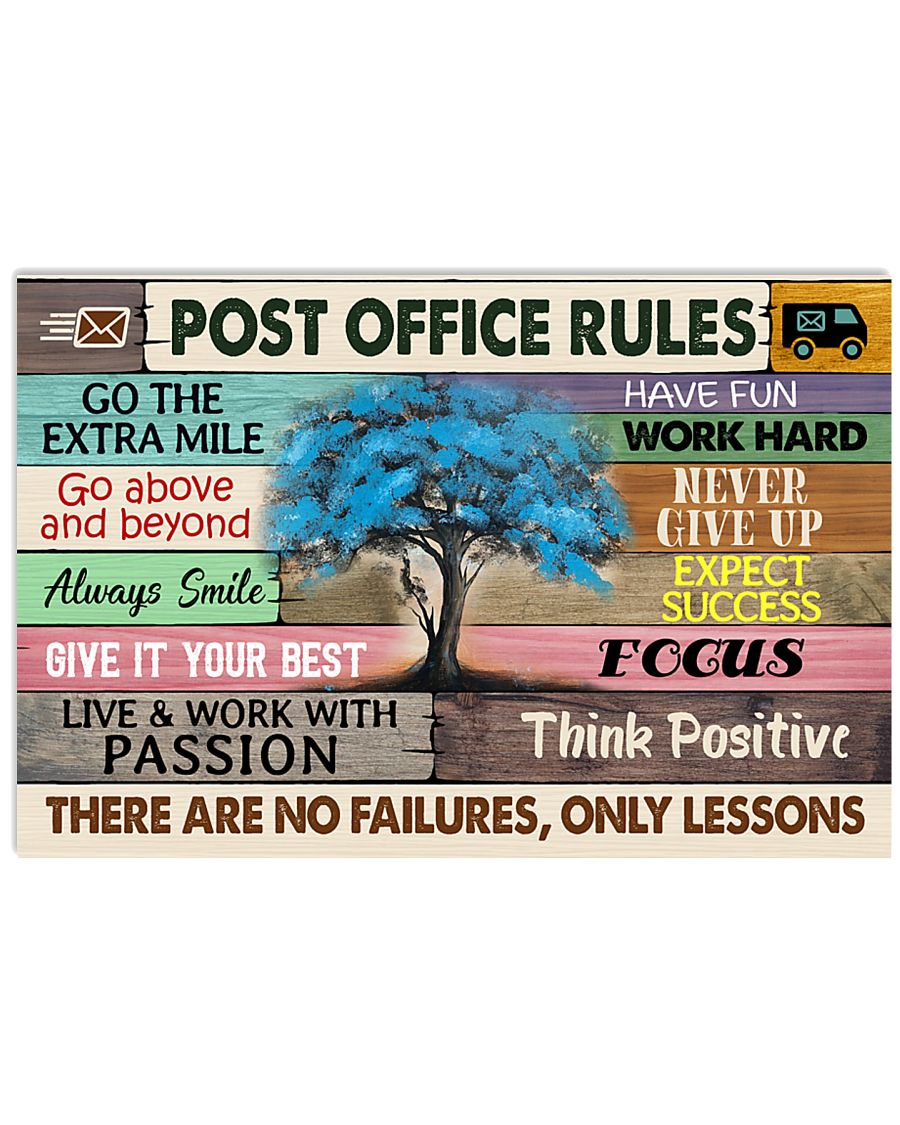 POST OFFICE RULE 17x11 Poster