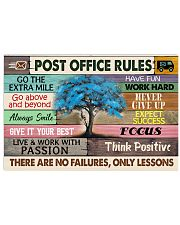POST OFFICE RULE 17x11 Poster front