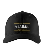 GRAHAM Embroidered Hat front
