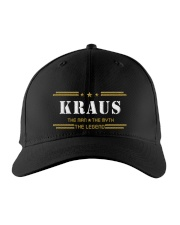 KRAUS Embroidered Hat front