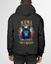 KUNZ Rule Hooded Sweatshirt garment-hooded-sweatshirt-back-01