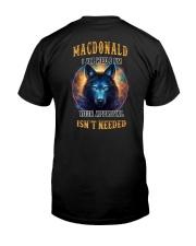 MACDONALD Rule Classic T-Shirt back