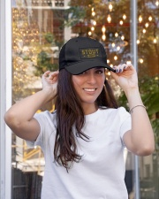 Stout Legacy Embroidered Hat garment-embroidery-hat-lifestyle-04