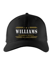 WILLIAMS Embroidered Hat front