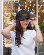 Donald Legend Embroidered Hat garment-embroidery-hat-lifestyle-04