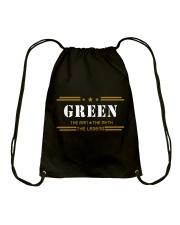 GREEN Drawstring Bag tile