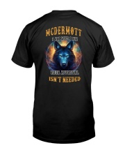 MCDERMOTT Rule Classic T-Shirt back