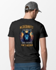 MCDERMOTT Rule Classic T-Shirt lifestyle-mens-crewneck-back-6