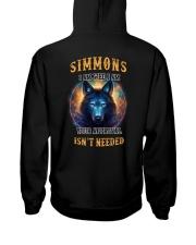 SIMMONS Rule Hooded Sweatshirt back