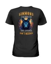 SIMMONS Rule Ladies T-Shirt thumbnail