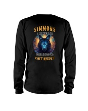SIMMONS Rule Long Sleeve Tee thumbnail