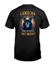 CAMACHO Rule Classic T-Shirt back