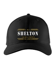 SHELTON Embroidered Hat front