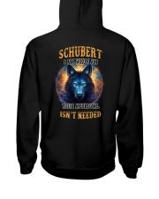 SCHUBERT Rule Hooded Sweatshirt back
