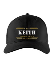 KEITH Embroidered Hat front