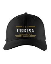 URBINA Embroidered Hat front