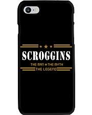 SCROGGINS Phone Case tile