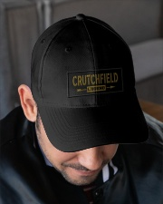 Crutchfield Legend Embroidered Hat garment-embroidery-hat-lifestyle-02