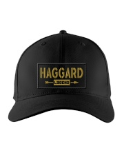 Haggard Legend Embroidered Hat front