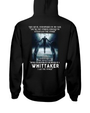 WHITTAKER Storm Hooded Sweatshirt back