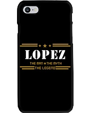 LOPEZ Phone Case tile