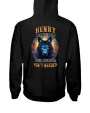 HENRY Rule Hooded Sweatshirt back