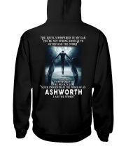 ASHWORTH Storm Hooded Sweatshirt back