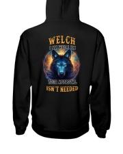 WELCH Rule Hooded Sweatshirt back