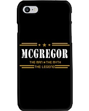 MCGREGOR Phone Case tile