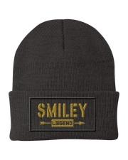 Smiley Legend Knit Beanie front